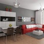 дизайн маленьких квартир цвет 5