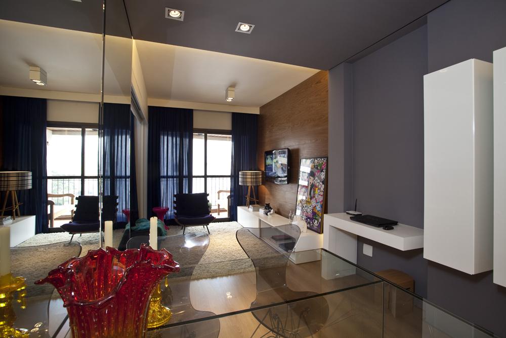 дизайн маленьких квартир зеркало 2