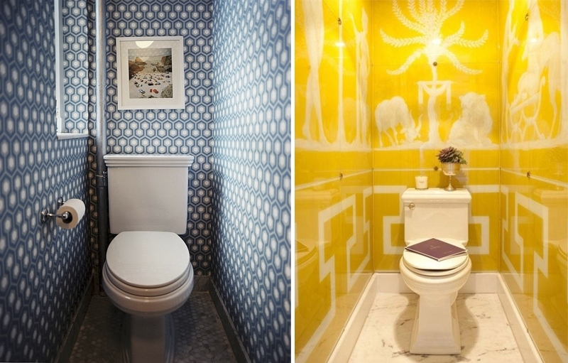 маленький туалет декор