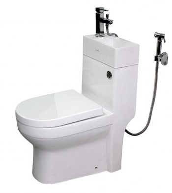 маленький туалет комоунитаз