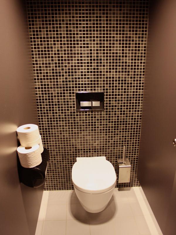 маленький туалет отделка