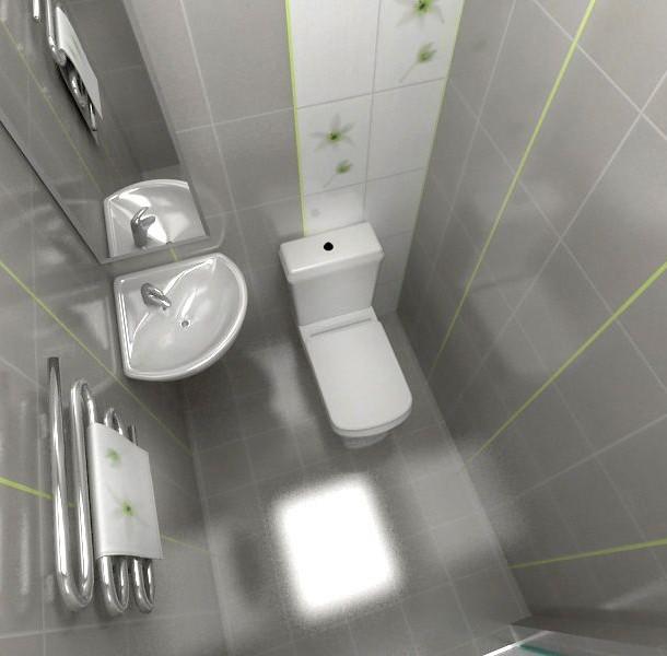 маленький туалет цвет 3