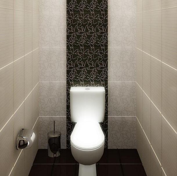 маленький туалет цвет
