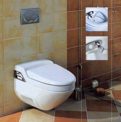 маленький туалет зекрало