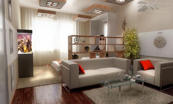 мебель для спальни зонирование 2