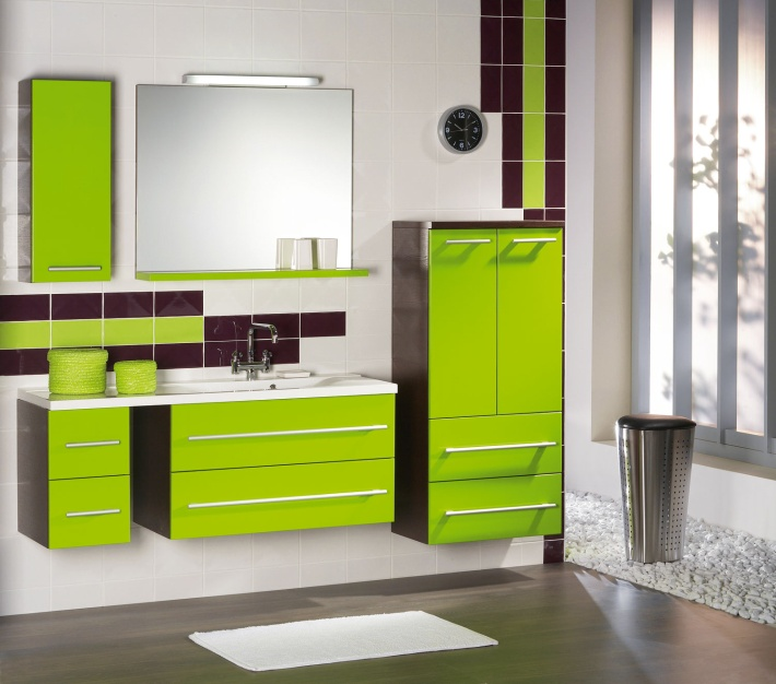 ванная комната комплект мебели 3
