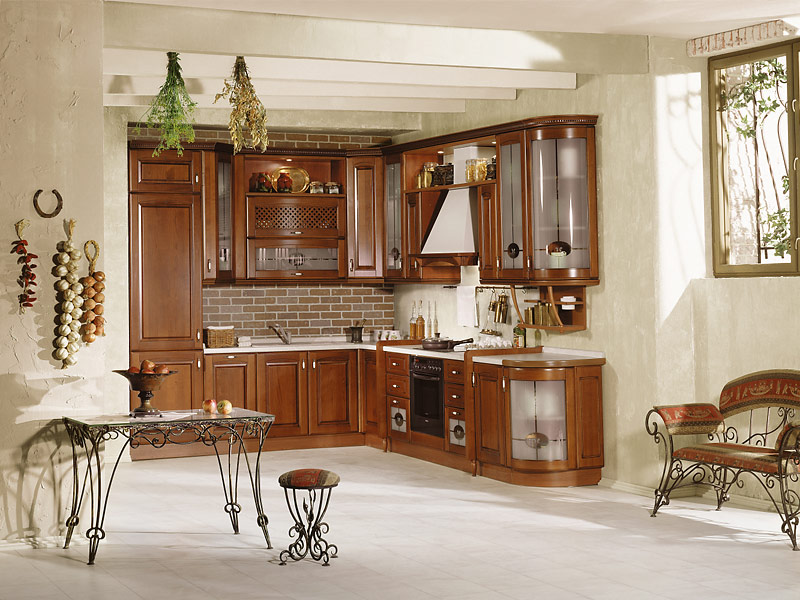 кухня деревянный каркас