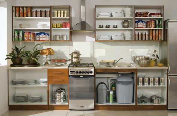 кухня места хранения 3