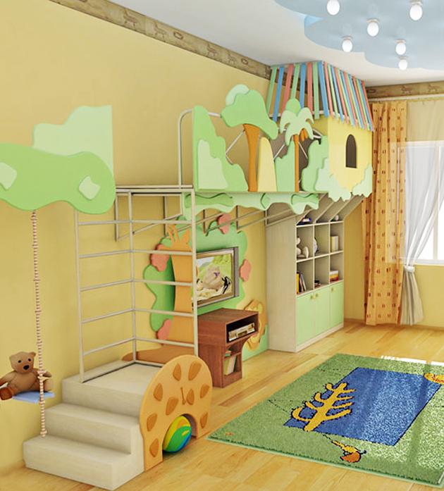 мебель для детской игровой уголок 2
