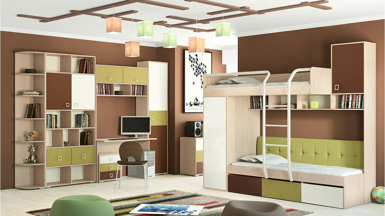 мебель для детской комнаты цвет 3
