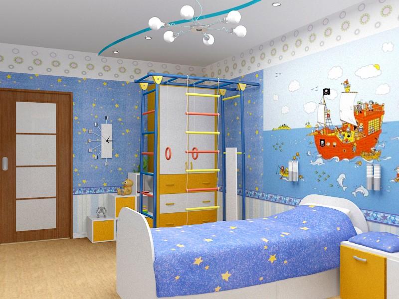 мебель для детской комнаты цвет
