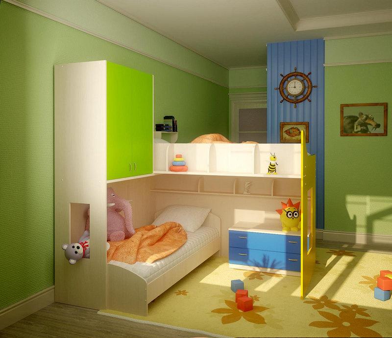 мебель для детской планировка 2