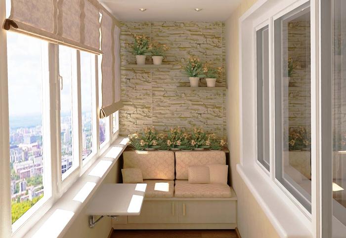 балконы внутренняя отделка своими руками фото