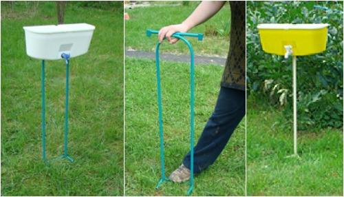 Уличный умывальник для дачи и сада: выбираем готовый или делаем своими руками