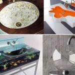 умывальник для ванной формы