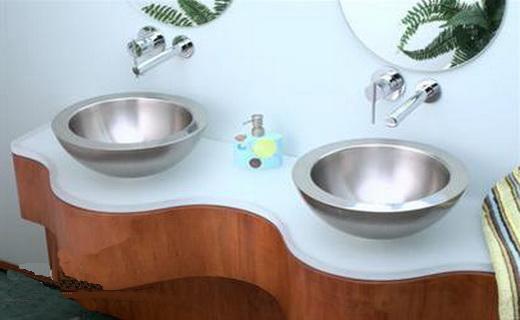 умывальник для ванной стальной