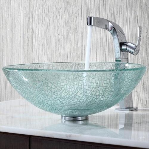 умывальник для ванной стекло