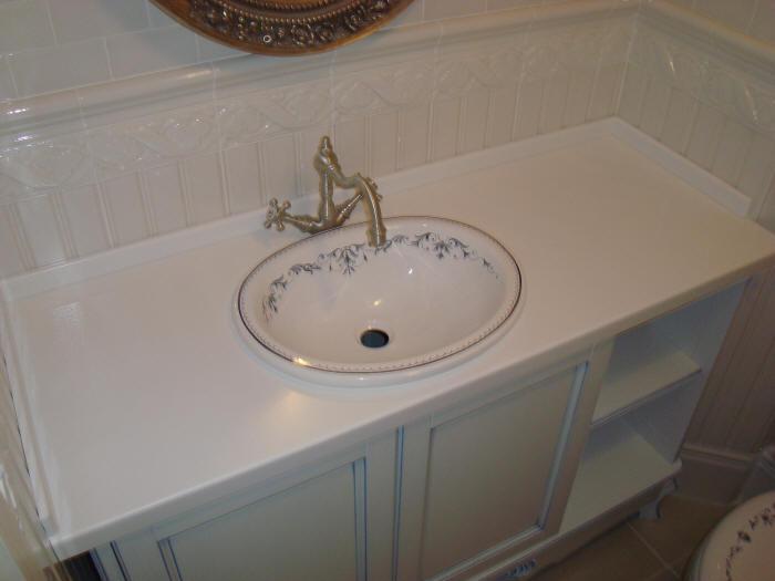 умывальник для ванной встроенный