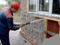 утепление стен дома эковатой 2