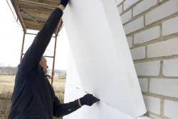 утепление стен дома пенопластом 2