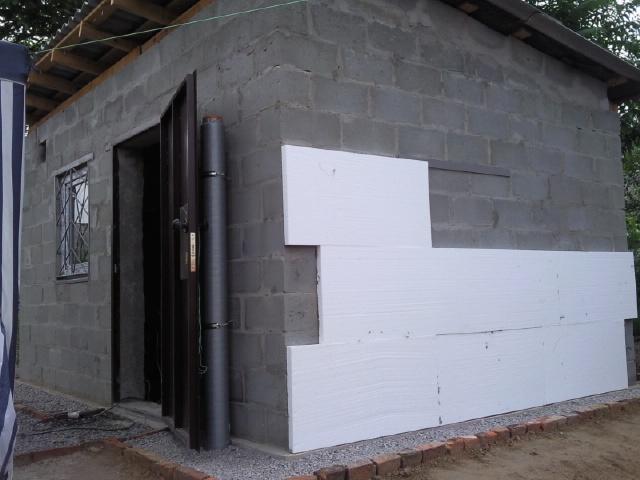 Пенопласт утепление стен снаружи своими руками