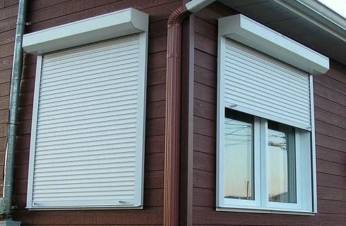 стальные рольставни на окна