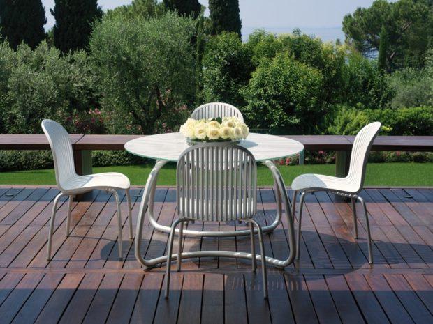 алюминиевая мебель для дачи и сада