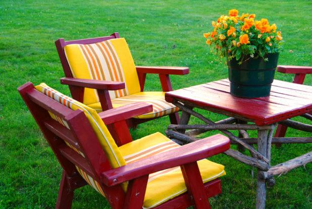 деревянная мебель для дачи и сада 2