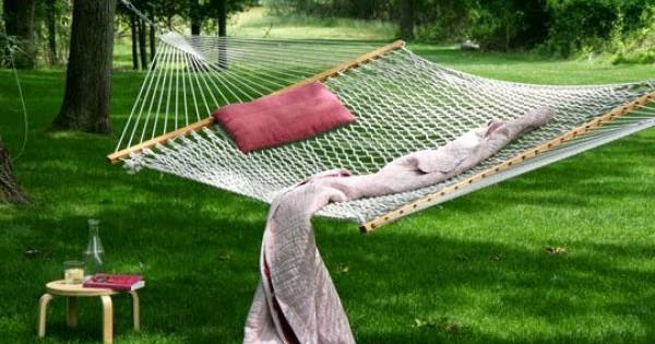 11 советов, какой гамак лучше выбрать для дачи и дома