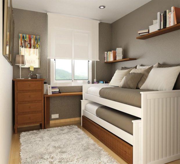 7 советов по дизайну маленькой детской комнаты + фото интерьеров