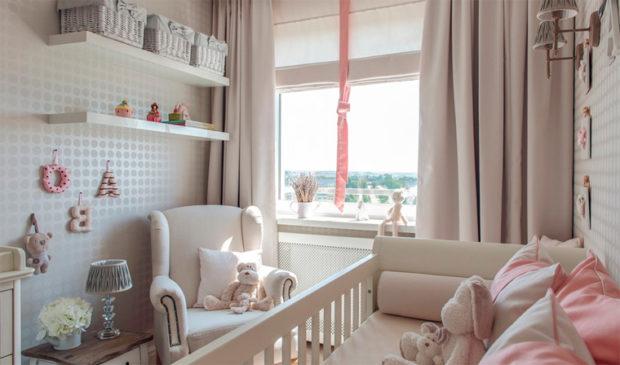 интерьер маленькой детской комнаты мебель 2
