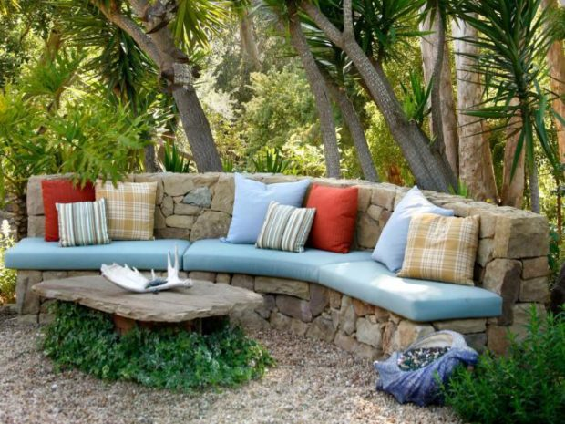 каменная мебель для дачи и сада