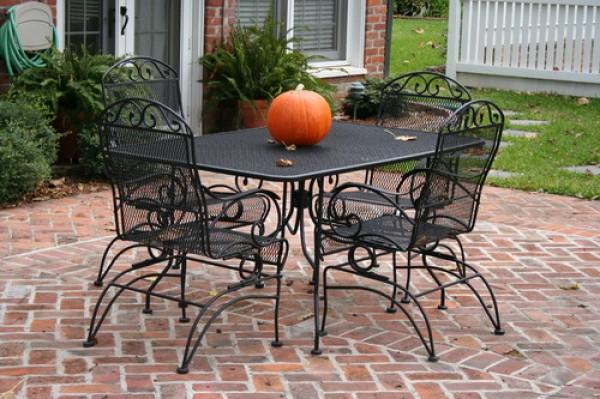 кованая мебель для дачи и сада
