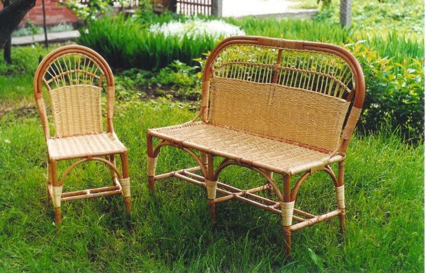 мебель для дачи и сада из лозы