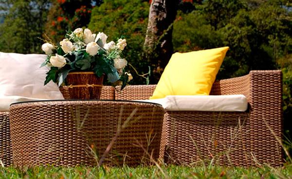 мебель для дачи и сада из натурального ротанга