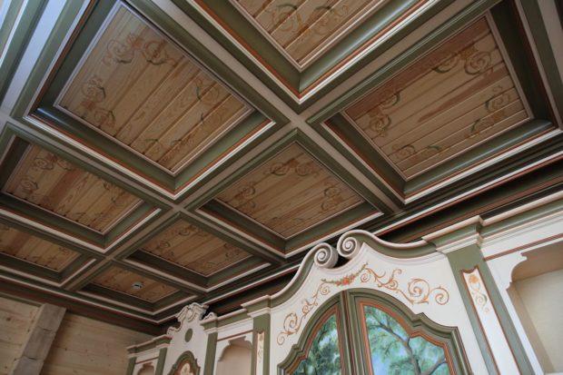 9 советов по выбору кессонного потолка из дерева, гипсокартона, МДФ и полиуретана