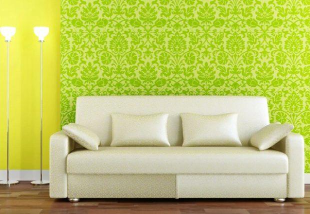 Жёлтый и зелёный
