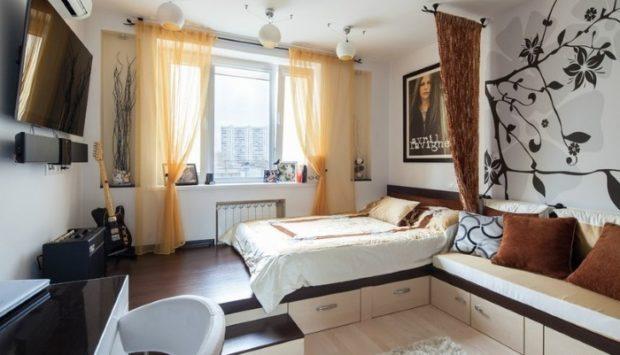 6 советов по обустройству и дизайну подиума в квартире + фото