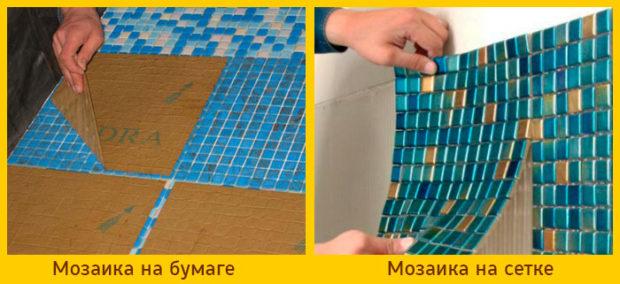 8 советов, как выбрать плитку мозаику для кухни и ванной: виды мозаики, укладка