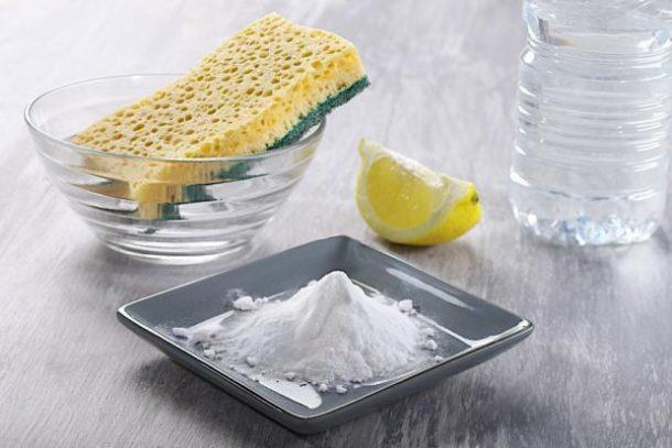 использование соды для чистки керамической плитки