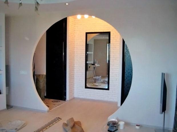 5 советов по использованию арки в дизайне интерьера + фото