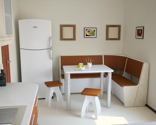 Уголок в маленькой кухне