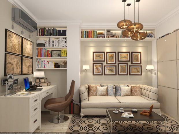 14 идей для дизайна комнаты без окна + фото