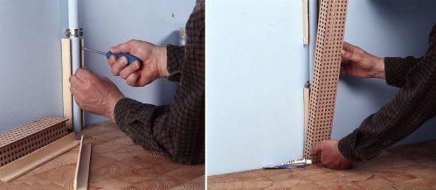 6 советов, как спрятать газовую трубу на кухне + фото ...