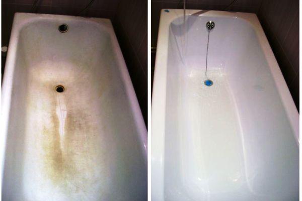 12 способов, как очистить ванну от налета и ржавчины в домашних условиях
