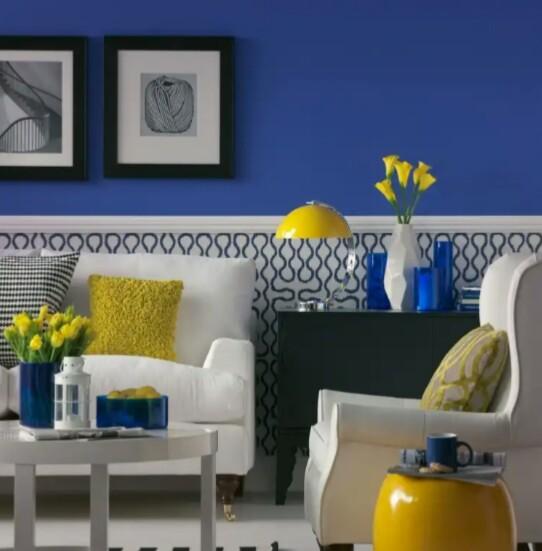 7 советов по использованию синего цвета в интерьере фото