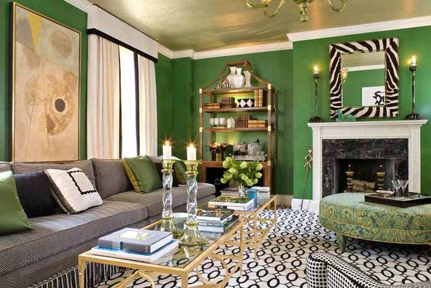 7 советов по использованию зеленого цвета в интерьере + фото