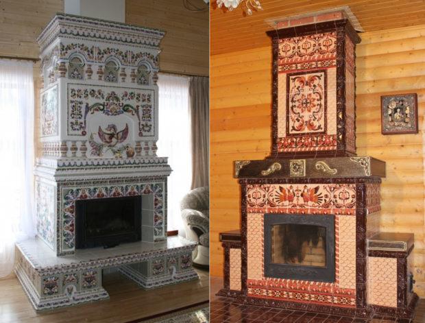 Декоративная отделка камина: 8 материалов для облицовки камина фото
