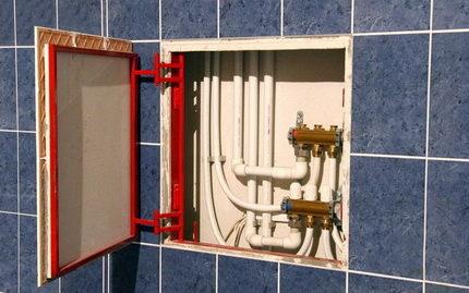 7 способов, как спрятать трубы в ванной комнате
