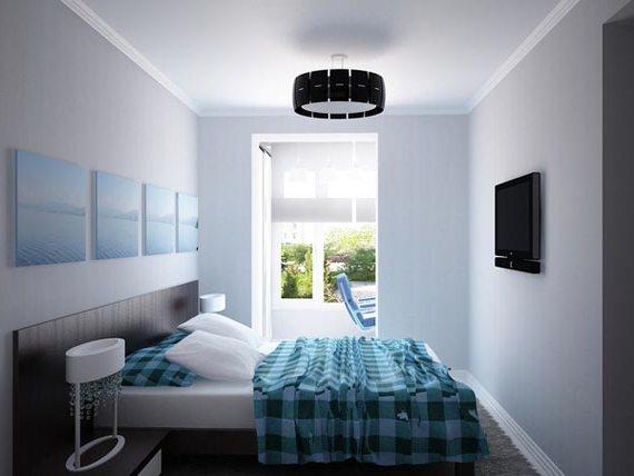4 совета по установке телевизора в спальне